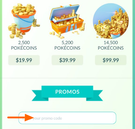 Pokemon Go Promo Code January 2019   Free Coins Coupon Code a4b512d42383