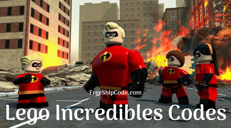 Lego Incredibles Codes