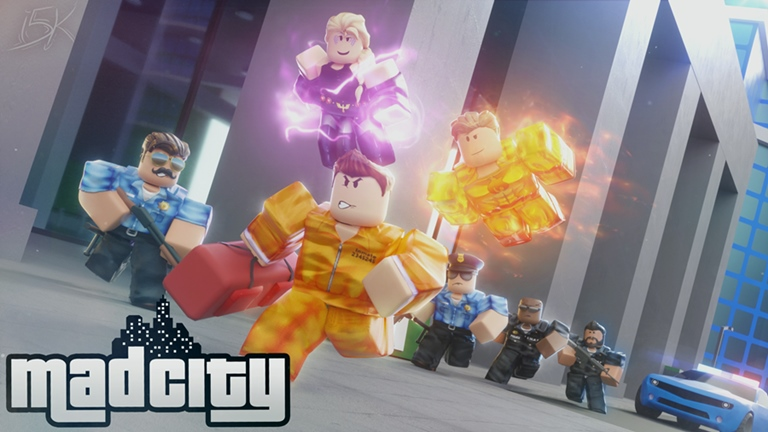 Roblox Mad City Codes 2019 : Free Skins & Monochrome